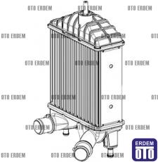 Fiat Idea Turbo Radyatörü 46836770  - 2