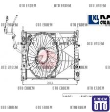 Fiat Linea Fan Davlumbaz Klimalı Motor Su Radyatörü 51785225 - 2