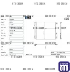 Fiat Linea Klima Radyatörü  51785214 - 2