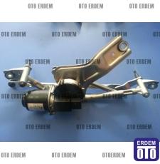 Fiat Linea Ön Cam Silecek Motoru Mekanizmalı 51753759 - 6