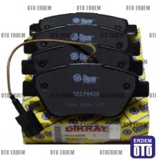 Fiat Linea Ön Fren Balata Takımı Opar (Tek Kablo) 55174420