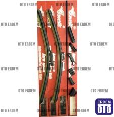 Fiat Linea Silecek Süpürgesi Takım  - 4