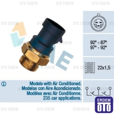 Fiat Marea Klimalı Fan Müşürü FAE 7655732