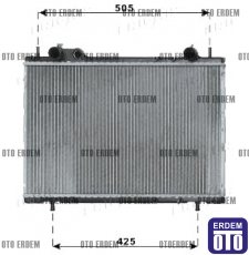 Fiat Marea Motor Su Radyatörü 46772231