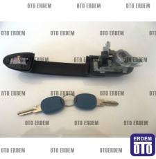 Fiat Marea Ön Sağ Kapı Kolu Çizgisiz Şifreli 46787583T - 2