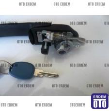 Fiat Marea Ön Sağ Kapı Kolu Çizgisiz Şifreli 46787583T - 4