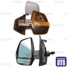 Fiat Pratico Dış Ayna Sağ (Elektrikli - Sensörlü - 8Pin) 735497878