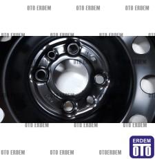 """Fiat Punto 6J 15"""" Sac Jant (Kara Jant) 4 Bijon 51966659 - 5"""
