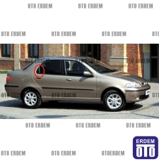 Fiat Siena Arka Kapı Dış Bakaliti Sağ 713166808 - 2