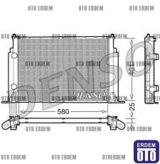 Fiat Stilo Motor Su Radyatörü 46745809 - 2