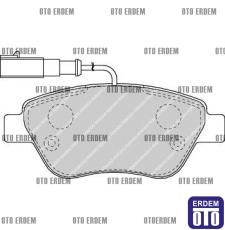 Fiat Stilo Ön Fren Balata Takımı Ferodo 55174420 - 2