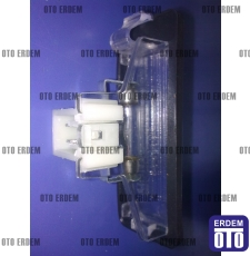 Fiat Tipo Plaka Lambası Komple Orjinal 7569564 - 3