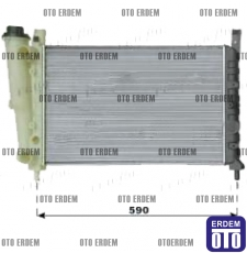 Fiat Uno Motor Su Radyatörü Kale 46432685K