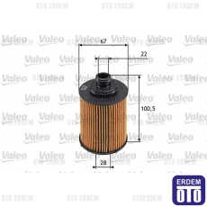 Idea Yağ Filtresi 1.3Mjet Valeo 55197218