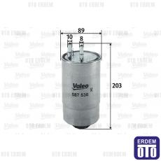 Idea Yakıt Filtresi Valeo 77363657