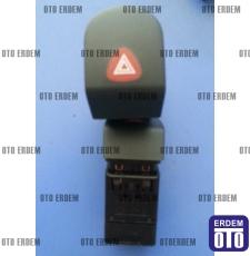 Kangoo Dörtlü Flaşör Düğmesi 7700308821 - Dav - 2