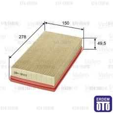 Kangoo Hava Filtresi 1.9D Valeo 7701047417