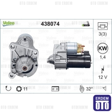Kangoo Marş Motoru 1.9D 1.4KW 12V Valeo 7700113207