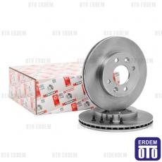 Kangoo Ön Fren Disk Takımı 238Mm Ferodo 7701204286