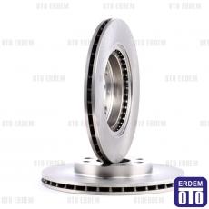 Kangoo Ön Fren Disk Takımı Valeo 7701206339