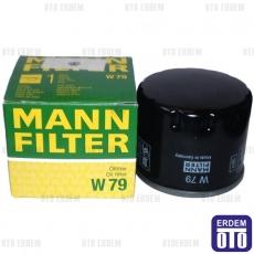 Kangoo Yağ Filtresi Mann 8200768927