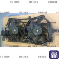 Laguna 1 Fan Motoru Komple Davlumbazı Pervanesi Çift Motor 7701471356 - İtal
