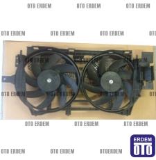 Laguna 1 Fan Motoru Komple Davlumbazı Pervanesi Çift Motor 7701471356 - İtal - 2