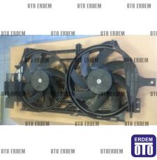 Laguna 1 Fan Motoru Komple Davlumbazı Pervanesi Çift Motor 7701471356 - İtal - 3