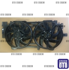 Laguna 1 Fan Motoru Komple Davlumbazı Pervanesi Çift Motor 7701471356 - İtal - 5