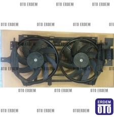 Laguna 1 Fan Motoru Komple Davlumbazı Pervanesi Çift Motor 7701471356 - İtal - 7