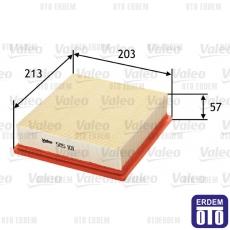 Linea Hava Filtresi Valeo 51830174