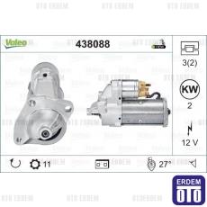 Master 2 Marş Motoru 12V 1.9Dti Valeo 7711134603