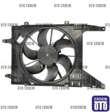 Megane 1 Fan Motoru Komple 7701051497