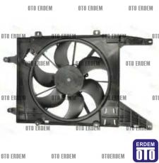 Megane 1 Fan Motoru ve Davlumbazı Komple 7701051497 - 7701056388