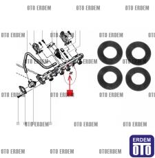 Megane 1 Scenic 1 Laguna 1 Enjektör Kütüğü Contası F3R 7703065275  - 4