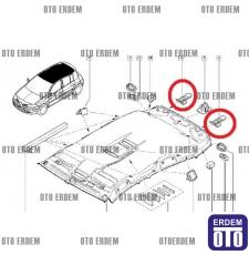 Megane 2 Arka Cam Perde Klipsi 8200191584 - 3