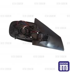Megane 2 Dış Dikiz Aynası SAĞ Komple Katlanır Tip Elektrikli 7701054690T - 4