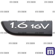 Megane 2 Kapı Band yazısı 16 16 Sol Siyah Monogram 8200209131