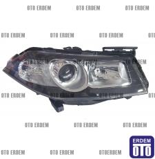 Megane 2 Mercekli Far Sağ Motorlu Siyah 7701071563 - 2