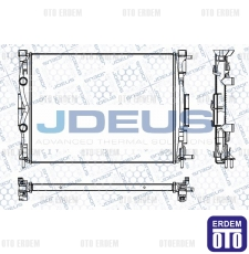 Megane 2 Motor Su Radyatör JDeus 8200115542