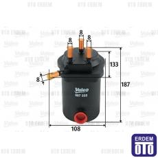 Megane 2 Yakıt Filtresi 1.5Dci Valeo 7701061577