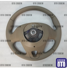 Megane 3 Direksiyon Simidi Bej Cruise Control 484008646R - 484300040R - 4
