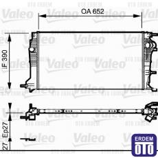 Megane 3 Motor Su Radyatörü 2.0Dci Valeo 214100016R