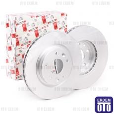 Megane 4 Ön Fren Disk Takımı Ferodo 402062000R