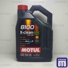 Motul 5W30 EFE 8100 X-CLEAN 4LT Motor Yağı
