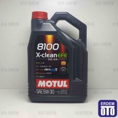 Motul 5W30 EFE 8100 X-CLEAN 5LT Motor Yağı