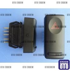 R19 Europa Flaşör Dörtlü Düğmesi Orjinal 7700817335 - 3
