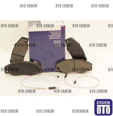 R21 Manager 2000 Ön Fren Balatası Takım Bosch 7701203069