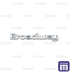 Renault 9 Broadway Yazı 7700875915