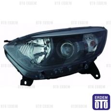Renault Captur Far Lambası Sağ Siyah (Motorlu) Depo 260101715R